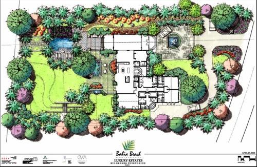 园林景观设计知识:庭院景观设计有哪十大原则(园林绿化工程施工的详细流程?)